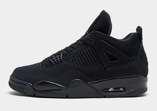 """Where To Buy The Air Jordan 4 """"Black Cat"""""""