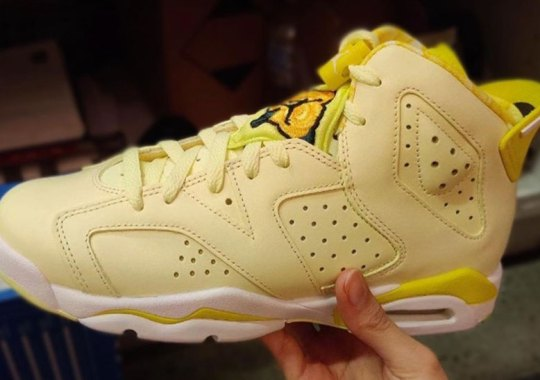 "Air Jordan 6 ""Citron Tint"" Releasing In February For Girls"