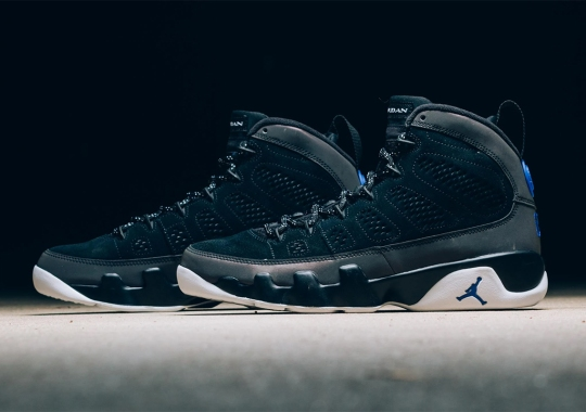"The Air Jordan 9 Retro ""Racer Blue"" Is Available Now"
