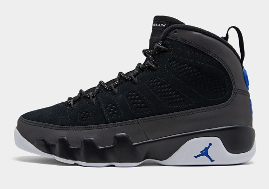 "Detailed Look At The Air Jordan 9 ""Racer Blue"""