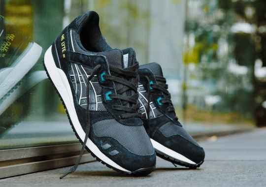 The ASICS GEL-Lyte III Is Back In A Simple Black With Neon Accents