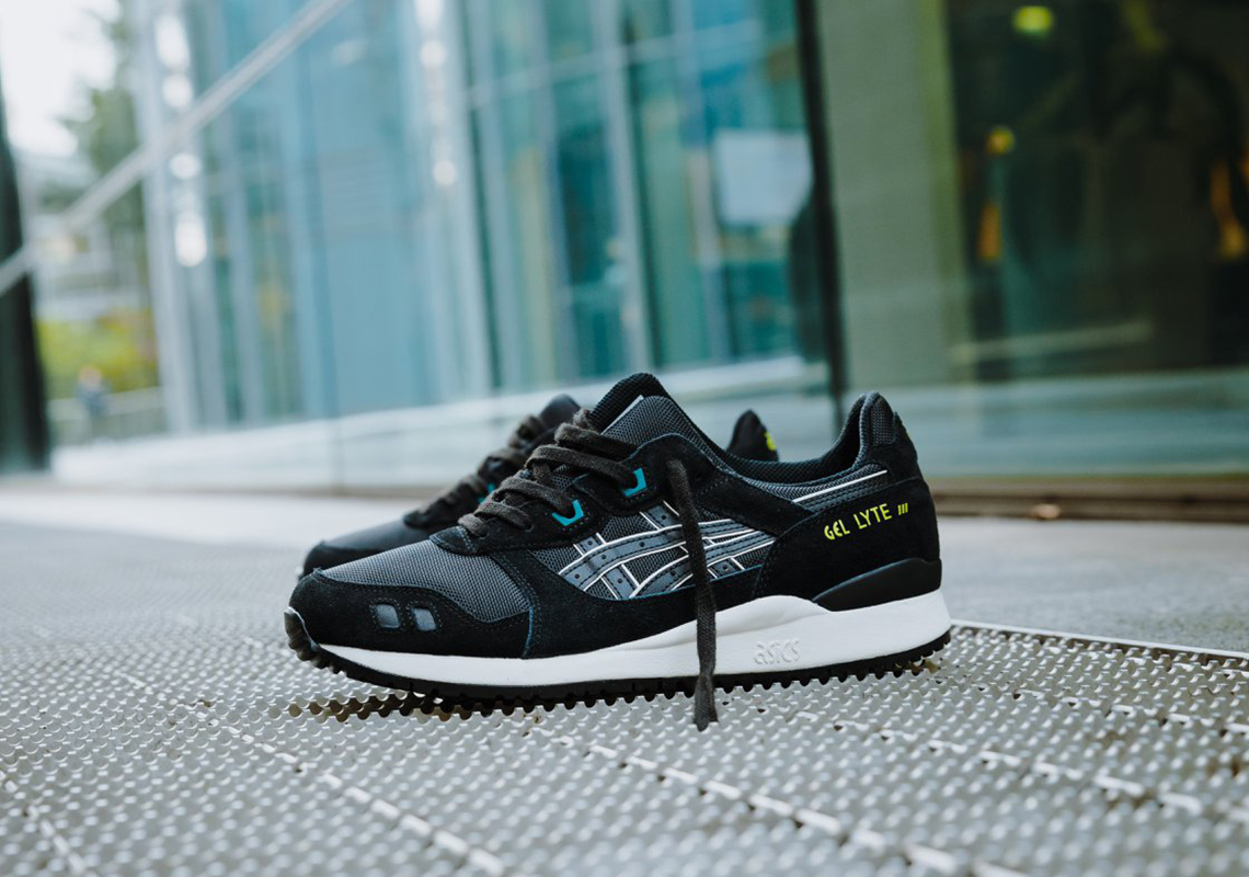 The ASICS GEL Lyte III Is Back In A Simple Black With Neon
