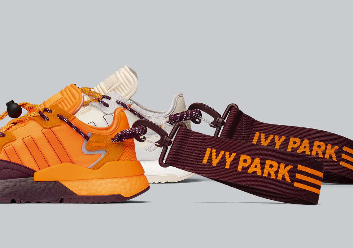 Beyonce IVY PARK adidas Nite Jogger FX3239 FX3158 Release Date | SneakerNews.com