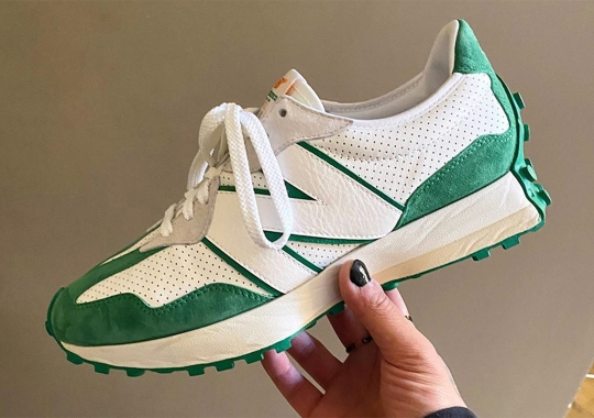 Casablanca Debuts New Balance 327 Collaboration At Paris Fashion Week