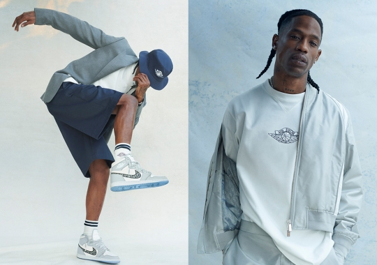 The Entire Dior x Jordan Brand Capsule Is Releasing In April