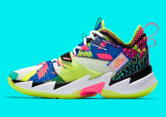 "Russell Westbrook Goes Full 1990s With Jordan Why Not Zer0.3 ""L.A. Born"" For All-Star"