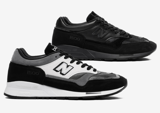 Junya Watanabe MAN x New Balance 1500 Delivered In Two Stealthy Colorways