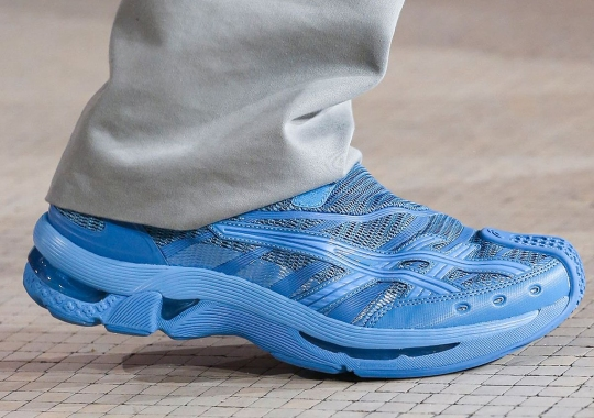 Kiko Kostadinov Reveals His Last ASICS Collaboration On The Paris Fashion Week Runway