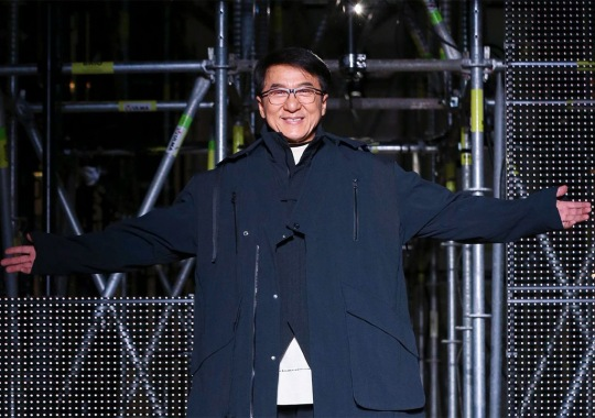 Jackie Chan And Li-Ning Debut Shoe Collaboration At Paris Fashion Week
