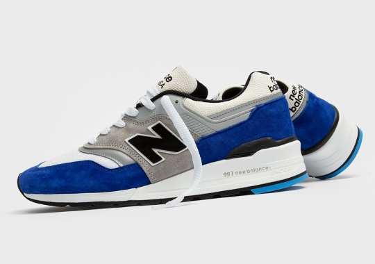 """The New Balance 997 """"OGA Blue"""" Is Available Now"""