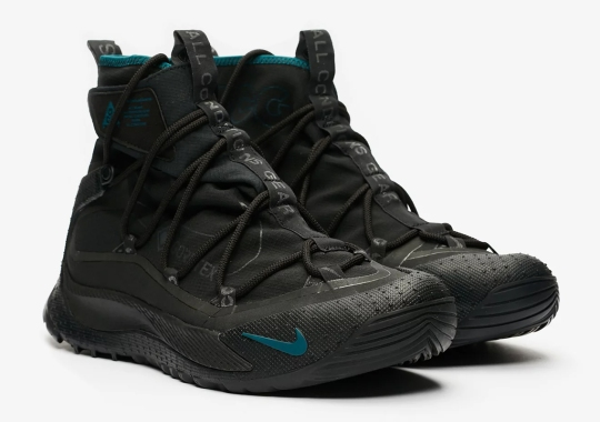 The Nike ACG Terra Antarktik Is Releasing In Black And Teal