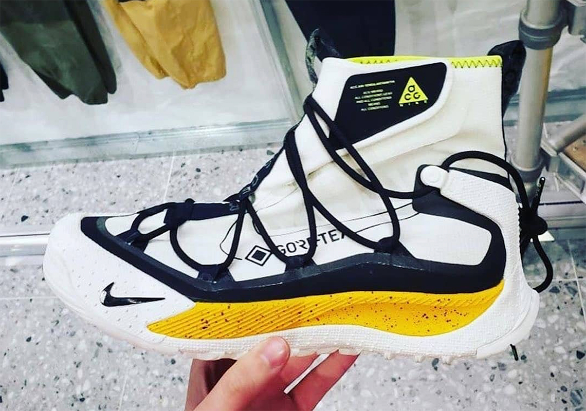 Nike ACG Air Terra Antarktik White Yellow | SneakerNews.com