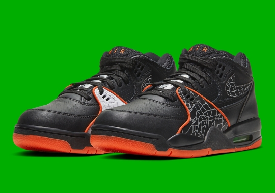 The Nike Air Flight 89 Goes Black And Orange For All-Star Weekend