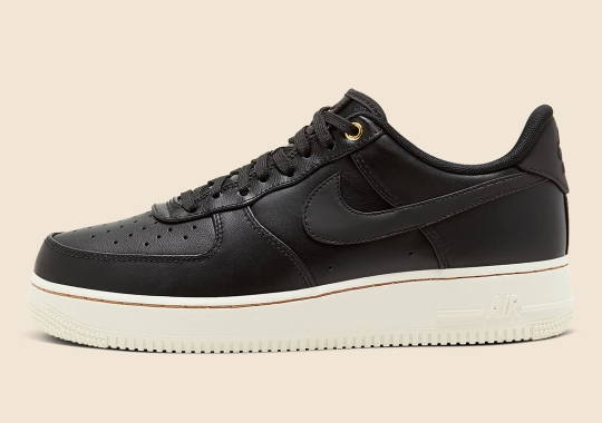 "The Nike Air Force 1 ""Black Pack"" Is Releasing on January 31st"