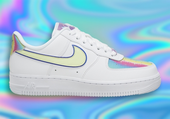"""The Nike Air Force 1 Low """"Easter"""" For 2020 Adds Iridescent Panels"""