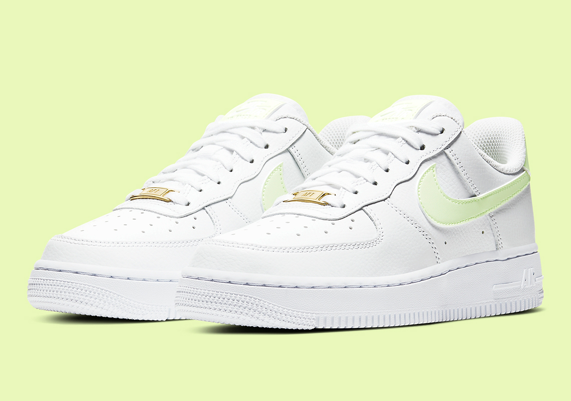 Nike Air Force 1 Low Womens Barely Volt 315115-155 ...