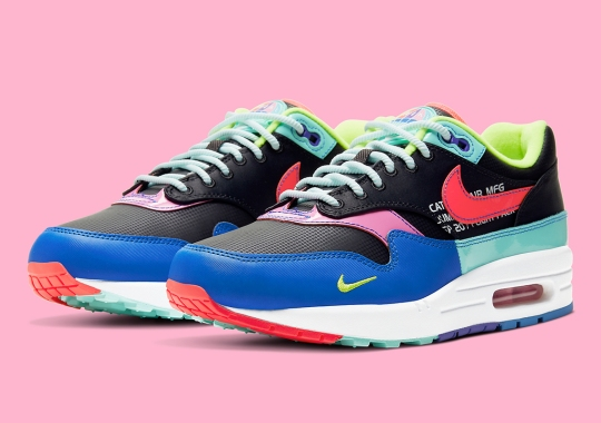 Nike Heads To The Future With This Multi-Colored Air Max 1