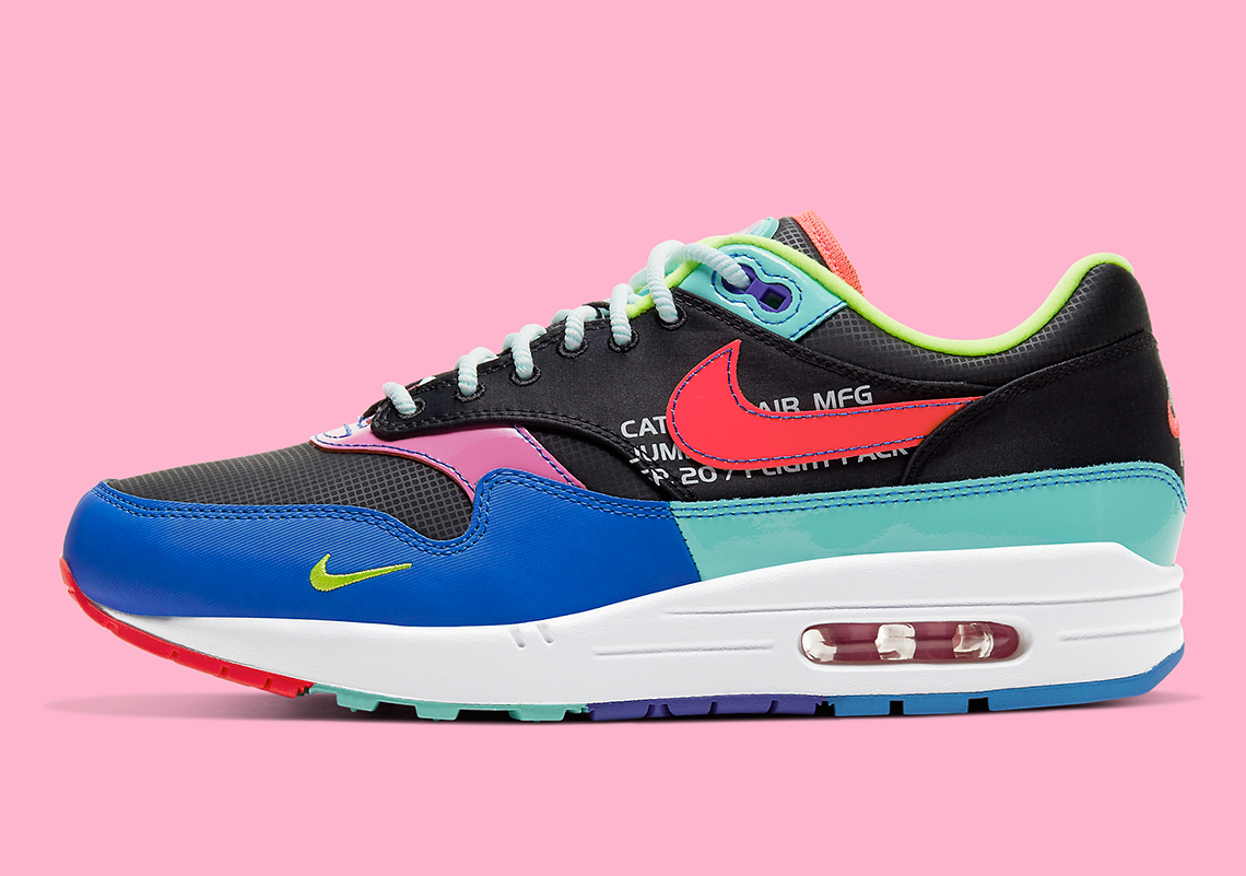 Neuropatía fragmento realce  Nike Air Max 1 Multi-Color CU4713-001 | SneakerNews.com