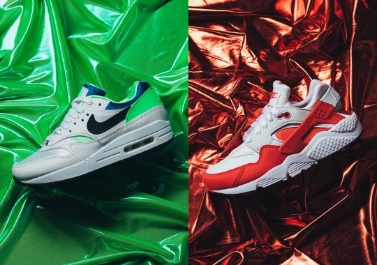 The Nike Air Max 1/Huarache DNA Series Will Be Releasing Individually