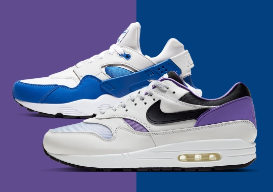 Nike Continues The Air Max 1/Huarache DNA Series With Two More OG Colorways