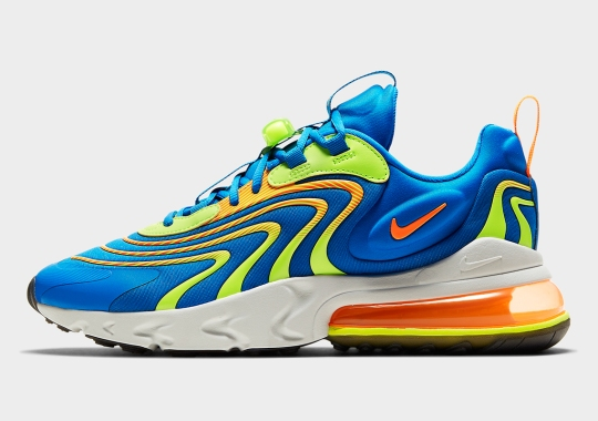 A Neon Heavy Mix Appears On The Nike Air Max 270 React ENG