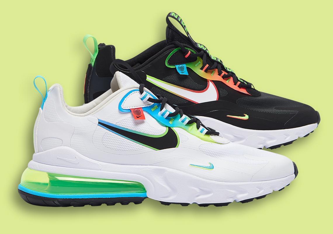 Nike Air Max 270 React Worldwide Black CK6457-001 | SneakerNews.com