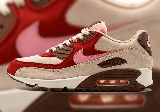 """The DQM x Nike Air Max 90 """"Bacon"""" Is Rumored To Return In March"""
