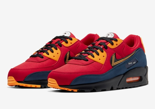 The Nike Air Max 90 Explores Uniforms Around The World With Its Upcoming City Pack
