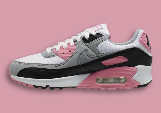 Nike Air Max 90 Arrives In Rose Pink On February 1st