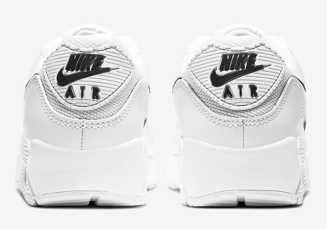 Nike Air Max 90 Womens White Black CQ2560-101 SneakerNews.com