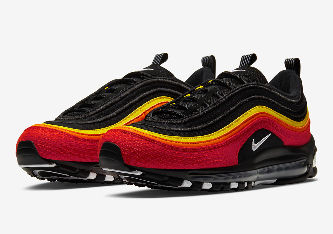 Nike Air Max 97 Receives Colorful Baseball Motif: Official Photos