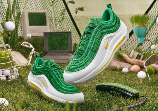 The Nike Air Max 97 Golf Returns With Grassy Uppers