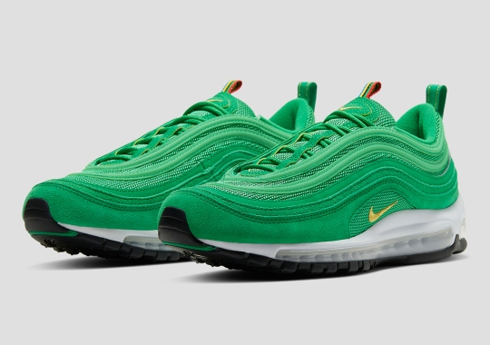 "The Nike Air Max 97 ""Lucky Green"" Is Available Now"