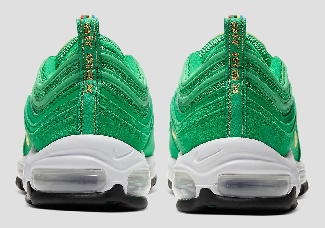Nike Air Max 97 Lucky Green Ci3708 300 Sneakernews Com