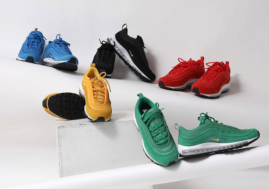 Nike Air Max 97 Olympic Rings Black Ci3708 001 Sneakernews Com
