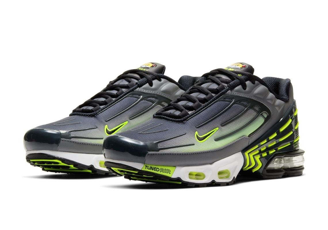 Nike Air Max Plus 3 Grey Volt CD7005