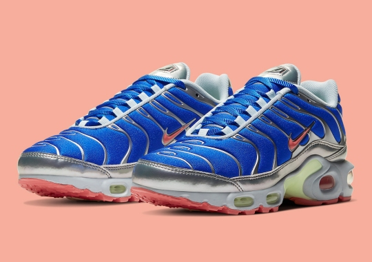 "The Nike Air Max Plus Emerges In An ""Ultraman"" Colorway"