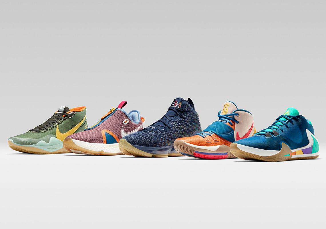 Nike Black History Month 2020 PE KD12 LeBron 17 Kyrie 6 PG4
