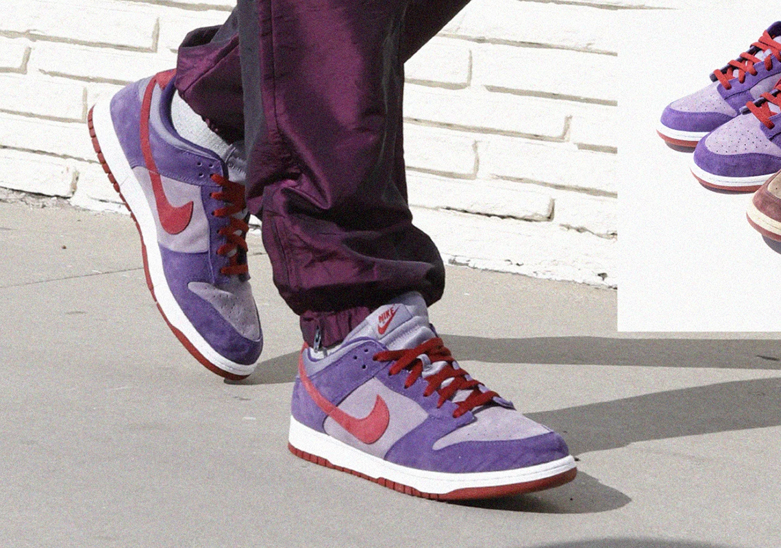 "Nike Dunk Low ""Plum"" 2020 Release Date 
