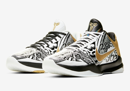 Nike Celebrates Kobe Bryant's Final Championship With The Kobe 5 Protro