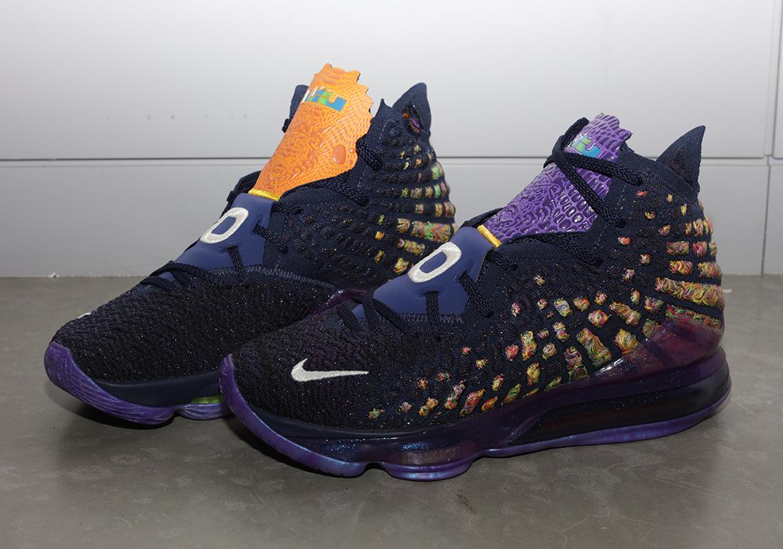 Nike LeBron 17 Monstars CD5050 400 Release Date