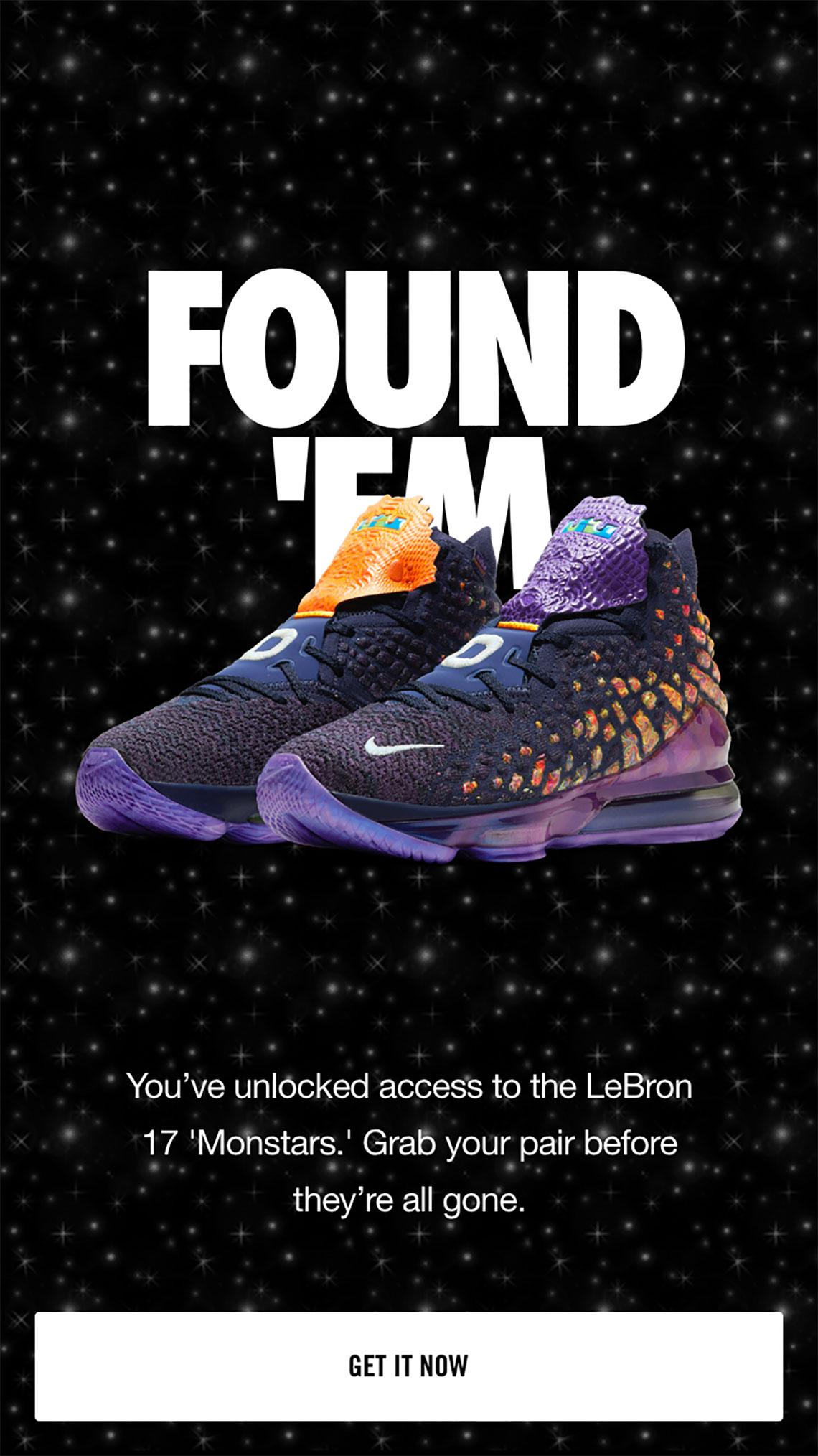 ecuación bestia Hermana  Nike LeBron 17 Monstars CD5050-400 Release Date | SneakerNews.com