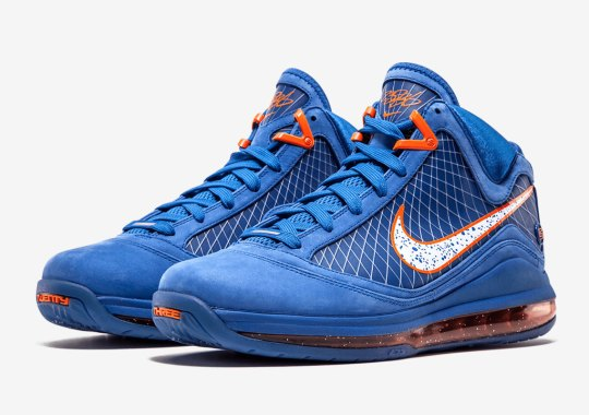 "Nike Is Releasing The LeBron 7 ""Hardwood Classic"" PE"