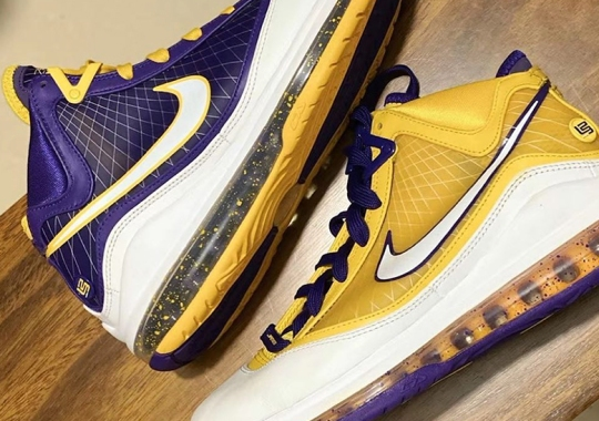"Nike May Release This LeBron 7 ""Lakers"" PE"