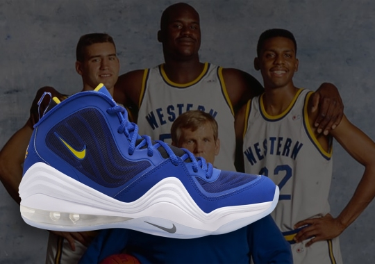 """The Nike Air Penny 5 """"Blue Chips"""" Set To Return On Film's 26th Anniversary"""