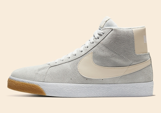 "Nike SB Blazer Mid ""Photon Dust"" Is Available Now"