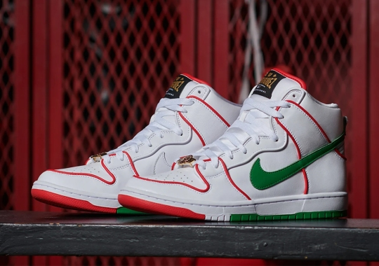 Paul Rodriguez's Nike SB Dunk High Honors His Mexican Heritage And 15 Year Tenure