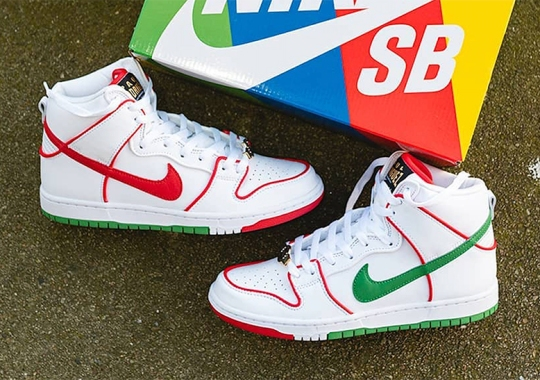 Paul Rodriguez's Nike SB Dunk High Is Inspired By Mexico's Love Of Boxing