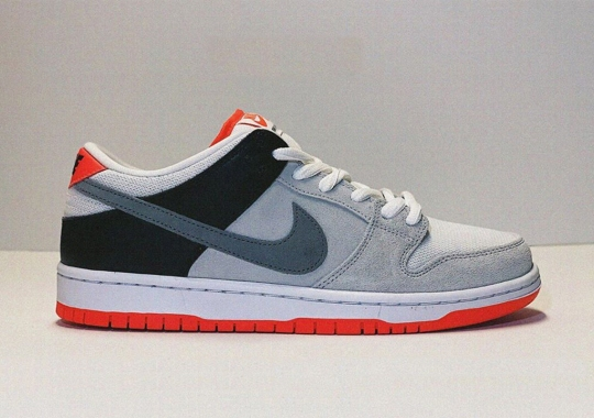 Nike SB Adds Infrared Accents To The Dunk Low