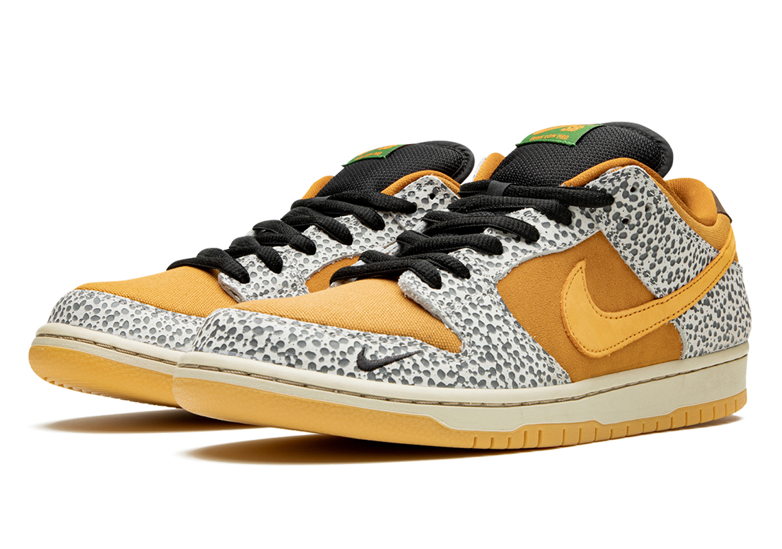 nike sb dunk low safari online release